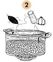 Рецепты шефов: Рис с бобами и пряностями «Мавры и Христиане». Изображение № 6.