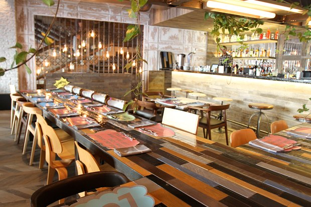 На 1-й Тверской-Ямской открылось кафе Ginza Project и Уильяма Ламберти. Изображение № 1.