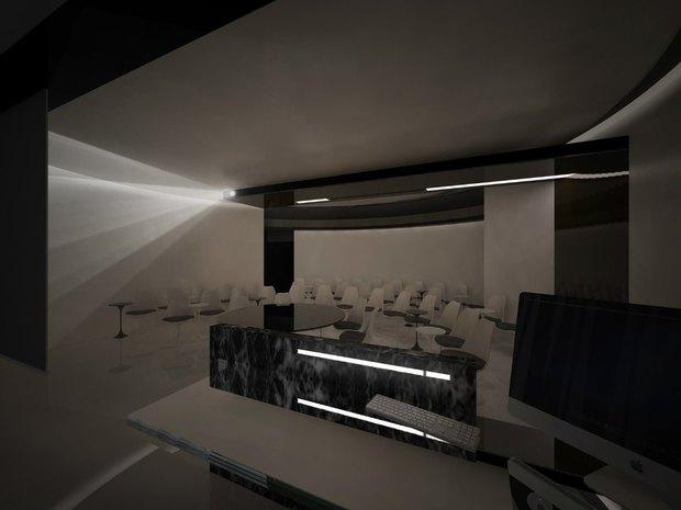 Студенты архитектурных вузов представили проекты интерьеров «Лахта-центра». Изображение № 8.