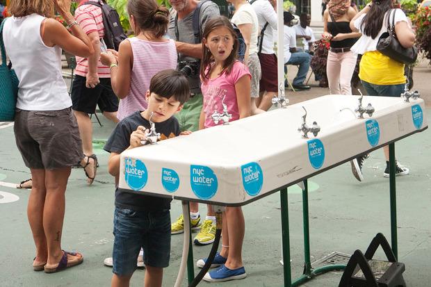 Идеи для города: Питьевые фонтаны в Нью-Йорке. Изображение № 7.