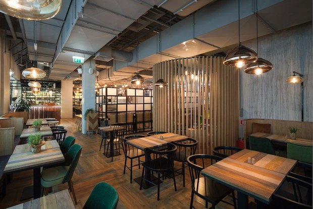 В «Галерее» открылся ресторан самообслуживания MarketPlace . Изображение № 3.