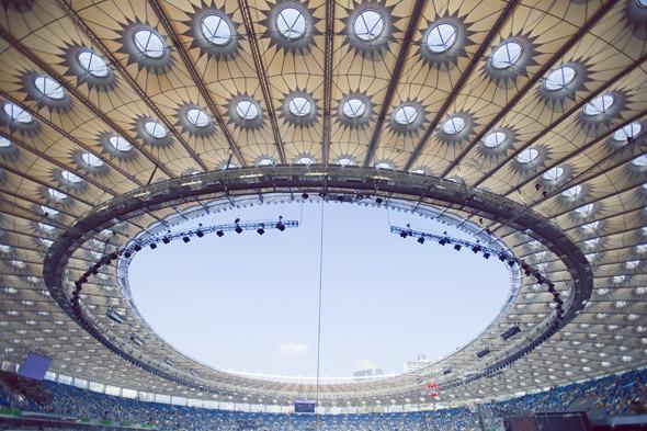 Выходит на арену: Как реконструировали стадион «Олимпийский». Изображение № 3.