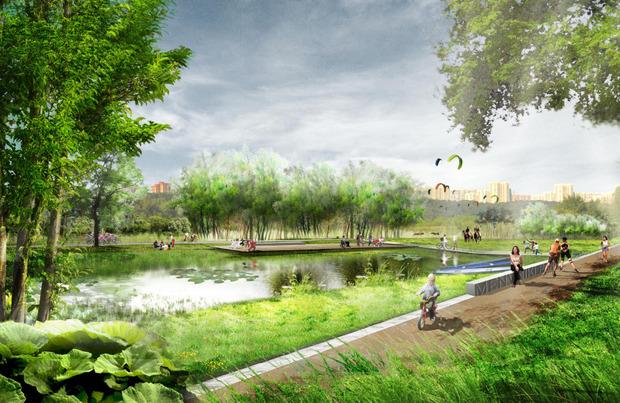 В Мневниках будет парк развлечений, сафари и этнодеревня. Изображение № 5.