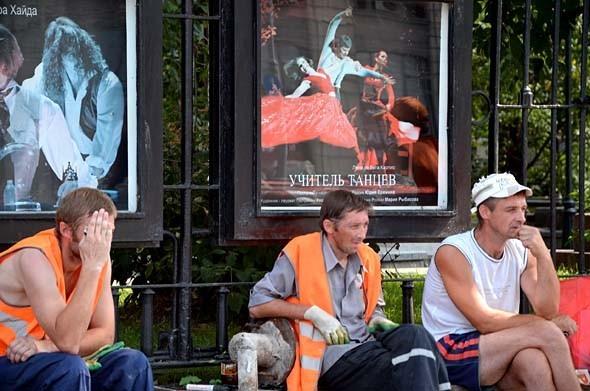 Свежая укладка: как асфальт меняют на плитку в Москве. Изображение № 12.
