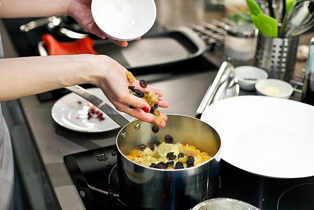 Шеф дома: Ростбиф-салат и тыквенная каша Мириам Сехон. Изображение № 86.