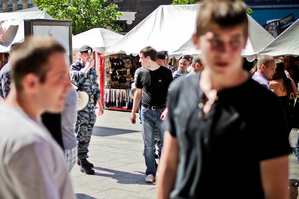 Изображение 17. Copwatch: действия полиции на «Дне гнева» на Театральной площади.. Изображение № 17.