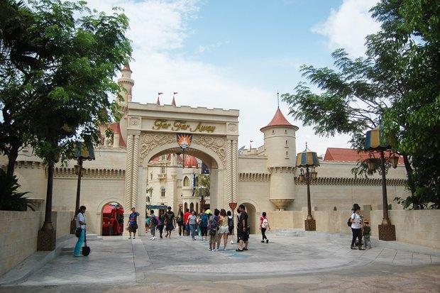 Парк DreamWorks в Сингапуре. Изображение № 1.