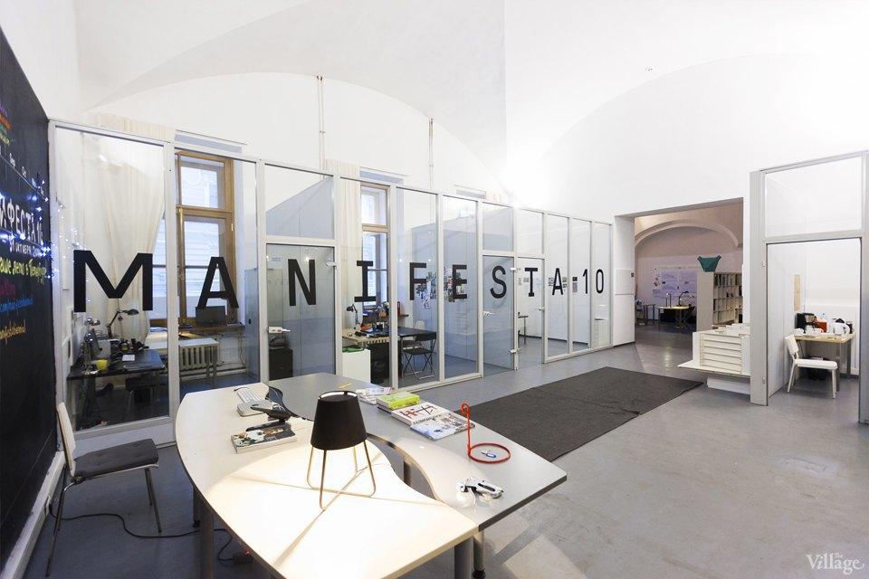 Интерьер недели (Петербург): Офис биеннале современного искусства Manifesta 10. Изображение № 12.
