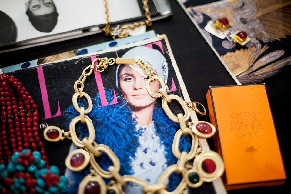 Личная коллекция: Винтажная одежда Алины Лысовой, владелицы магазина. Изображение № 4.