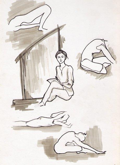 Клуб рисовальщиков: Йога. Изображение № 11.