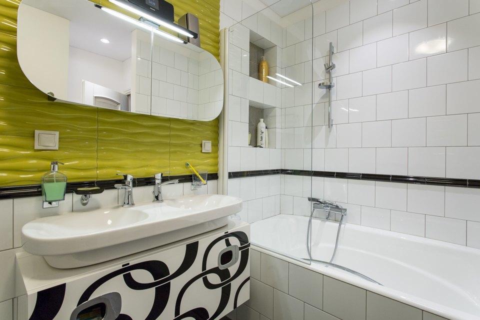 Большая квартира для семьи на«Нагатинской» с кабинетом илимонной ванной. Изображение № 16.