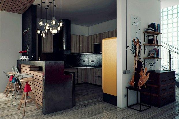 Как обустроить квартиру холостяка. Изображение №6.