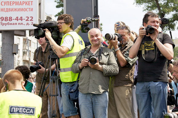 Фоторепортаж: «Марш миллионов». Изображение № 11.