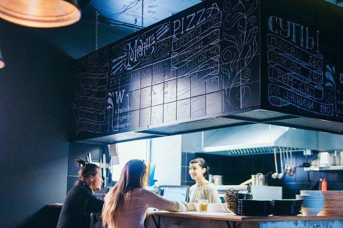 Наулице Декабристов открылось кафе для велосипедистов «1818» . Изображение № 2.