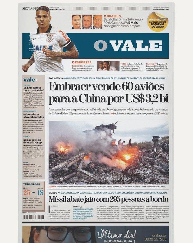 Авиакатастрофа под Донецком на первых полосах газет. Изображение № 17.