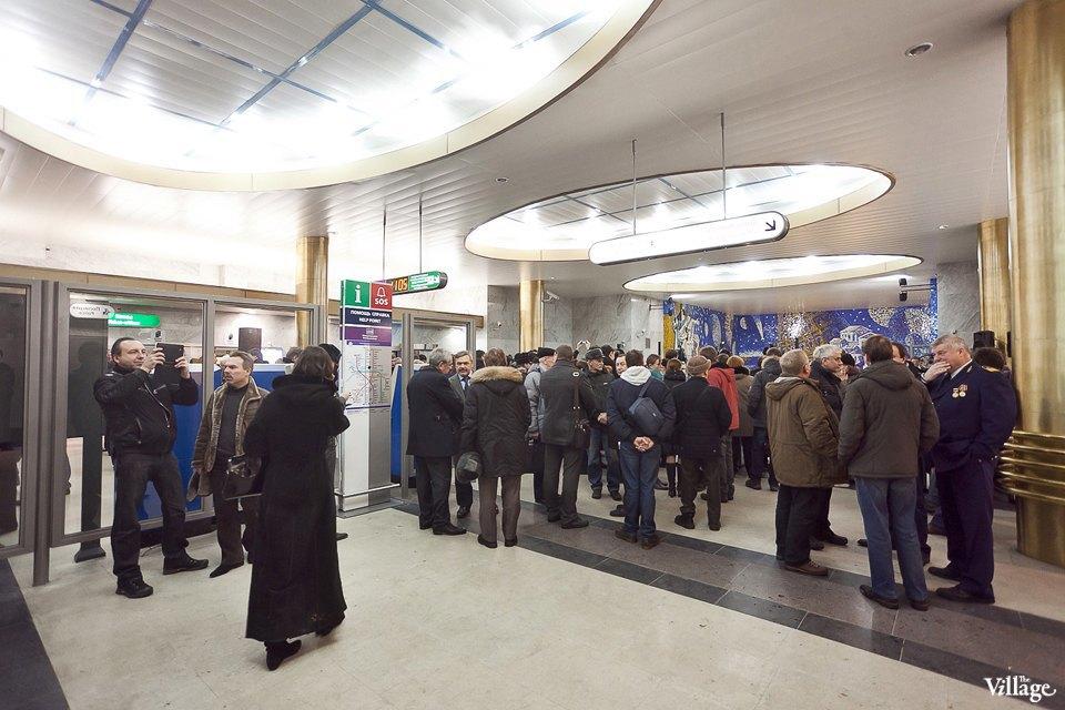 Фоторепортаж: Станции метро «Международная» и«Бухарестская» изнутри. Изображение № 16.