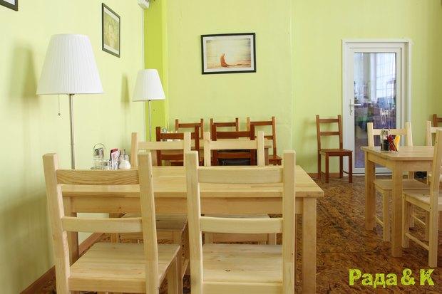 Открылось третье вегетарианское кафе «Рада и К». Изображение № 2.