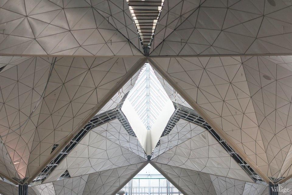 Фоторепортаж: Новый аэропорт изнутри. Изображение № 5.