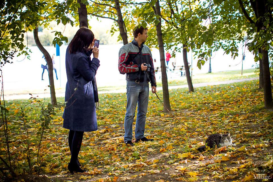 Люди в городе: Любительские фотосессии в парке. Изображение №22.
