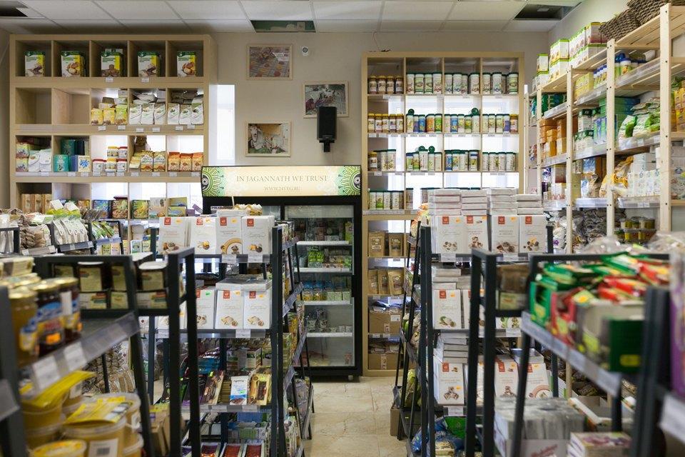 Магазин вегетарианских товаров и кафе «Джаганнат» на Фонтанке. Изображение № 1.