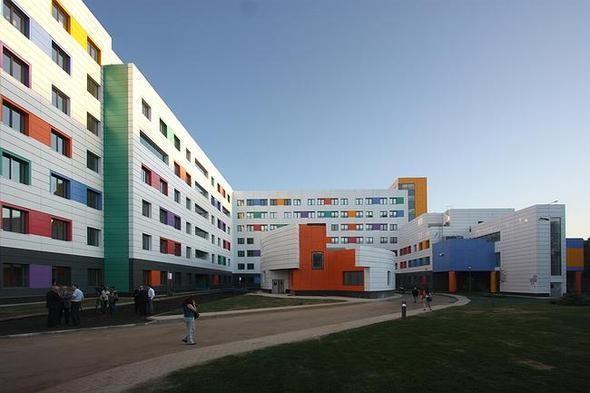 Изображение 11. На юго-западе Москвы открылась разноцветная детская больница.. Изображение № 8.