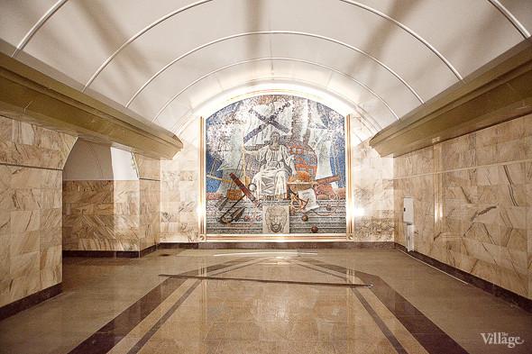 Фоторепортаж: Станция метро «Адмиралтейская» изнутри. Изображение № 2.