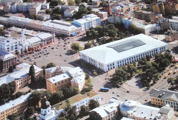 Киевские власти разрешили реконструкцию Гостиного двора. Зображення № 1.