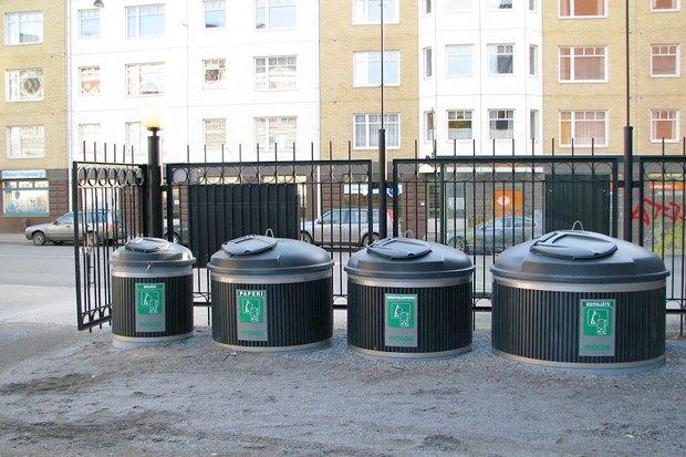 Идеи для города: Системы подземного сбора мусора. Изображение № 5.