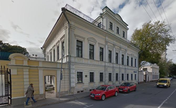 Сооружение XIX века вПодсосенском переулке отреставрируют
