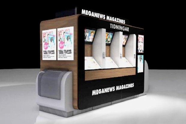 Идеи для города: Цифровой журнальный киоск в Швеции. Изображение №2.