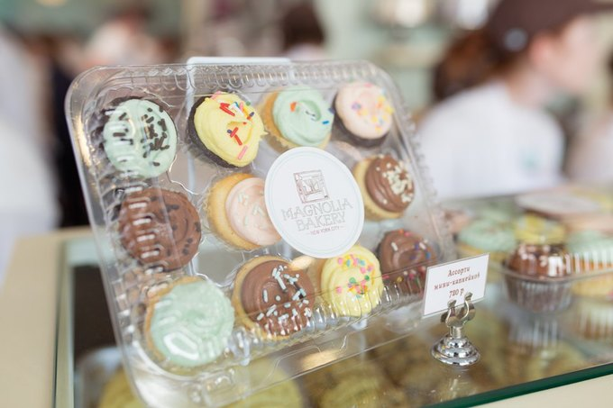 Magnolia Bakery открывает в Москве две новые пекарни . Изображение № 1.