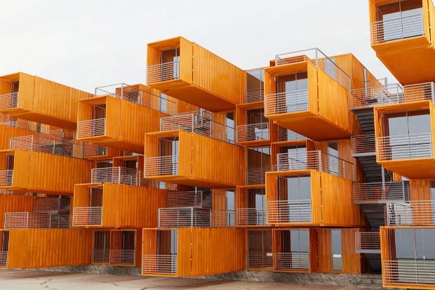 Студенческие общежития из контейнеров в Голландии. Изображение № 11.