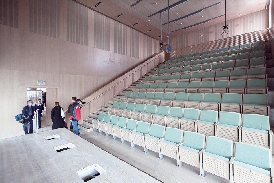 Фоторепортаж: Вторая сцена Мариинского театра изнутри. Изображение № 5.