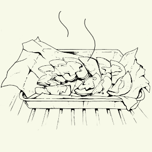 Брускетта избородинского хлеба спряной скумбрией Алексея Айзена. Изображение № 5.