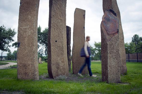 На Оболони появился сад камней. Зображення № 9.