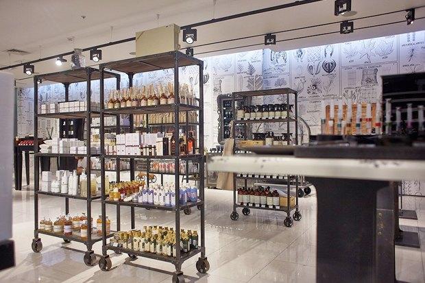 В «Галерее Москва» открылась «Аптека Cosmotheca». Изображение № 2.