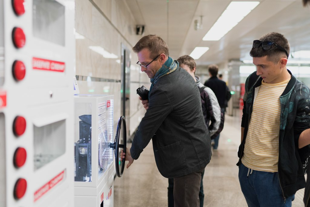 Зонтпэкер изарядка для гаджетов—как устроена станция метро «Котельники». Изображение № 23.