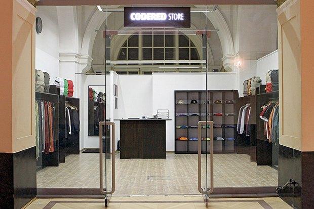 Российская марка Code Red открыла собственный магазин. Изображение №1.