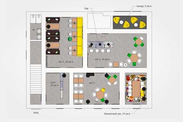 Resto Camp: Загородный ресторан, бар времен сухого закона и лофт в центре. Зображення № 9.