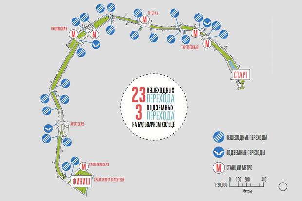 Исследование Яна Гейла: 14 фактов опешеходной Москве. Изображение № 10.