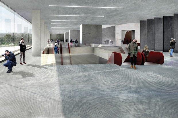 Три проекта нового здания ГЦСИ. Изображение № 18.
