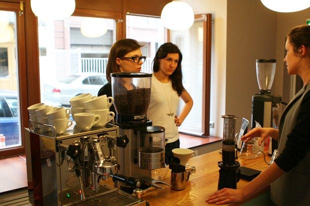 В Милютинском переулке открывается второй кофе-бар Double B. Изображение № 5.