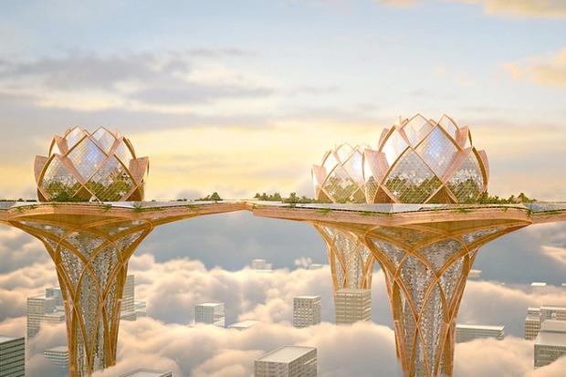 Иностранный опыт: 8 фантастических городских проектов. Изображение № 24.