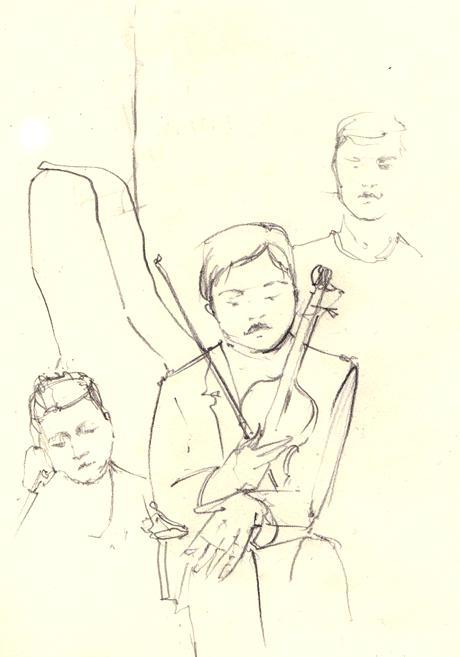 Клуб рисовальщиков: Музыканты. Изображение № 5.