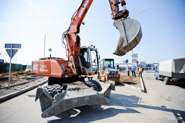 Фоторепортаж: Новый терминал аэропорта Киев — за день до открытия. Зображення № 4.