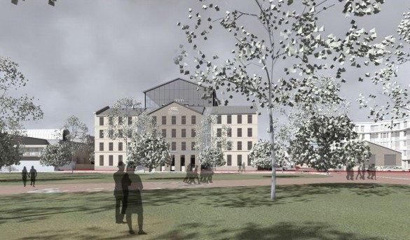 Мастерская Мамошина представила проект нового здания МДТ. Изображение № 1.