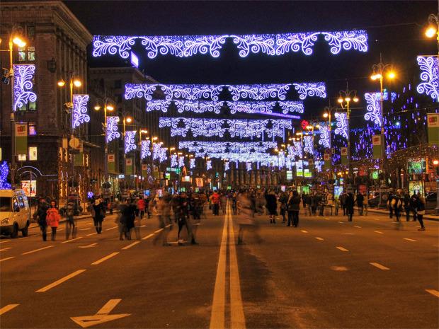 В декабре центр Киева украсят иллюминацией. Зображення № 4.