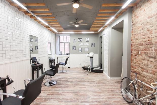 Новое место (Петербург): Мужская парикмахерская Chop-Chop. Изображение № 2.