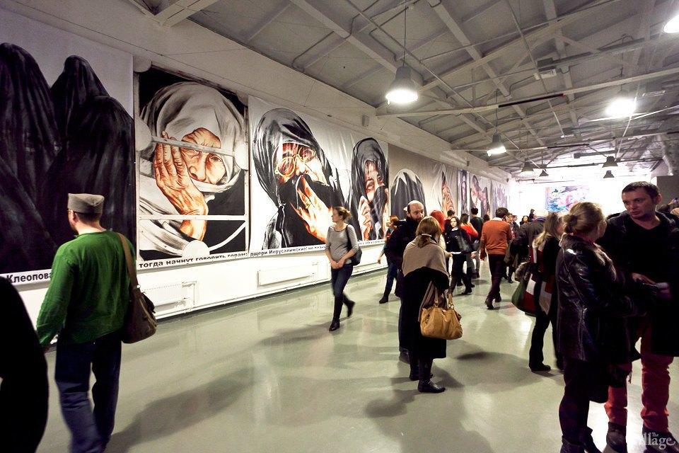 Люди в городе: Первые посетители выставки Icons в Петербурге. Изображение № 20.