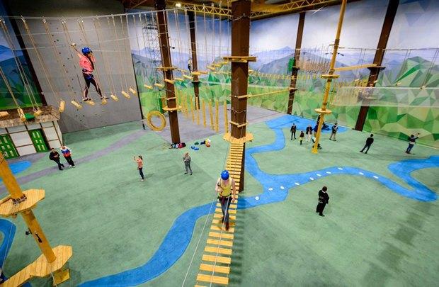 В«Питерлэнде» открылся большой верёвочный парк. Изображение № 1.